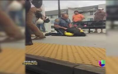 Violento incidente de presunto abuso policial en Nueva Jersey