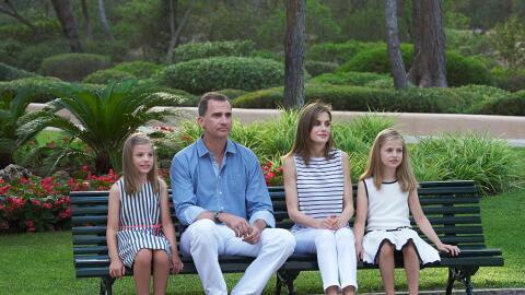 Las infantas y los pequeños príncipes, ejemplo de cara elegancia