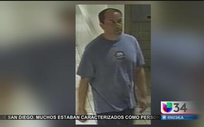 Buscan a presunto depredador sexual en City of Industry