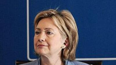 Clinton participó de un foro virtual en la República Dominicana.