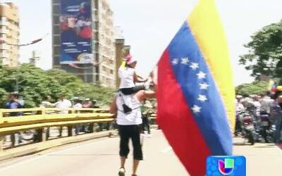 Se cumple un mes de protestas en Venezuela