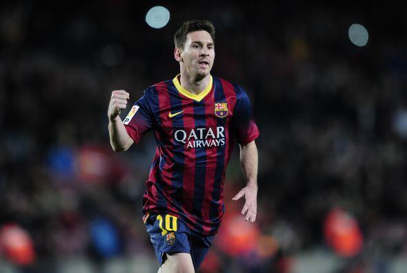 Lionel Messi tampoco se quedaría con deseos de marcar y lo demostró como...