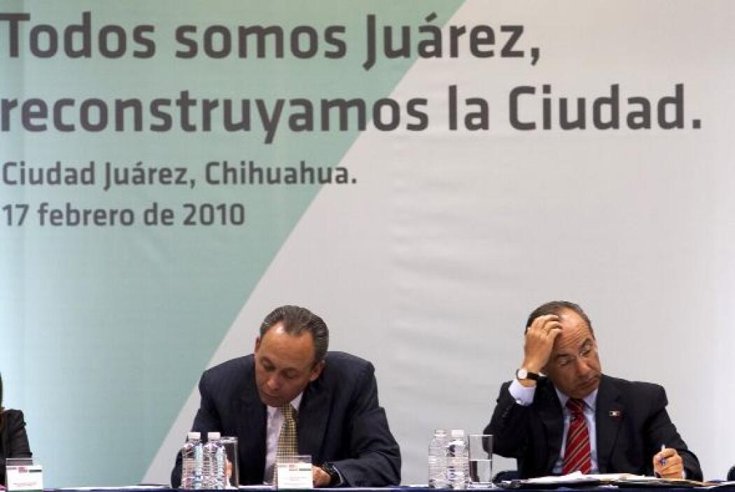 El presidente Calderón incluso se hizo presente días después en la urbe,...