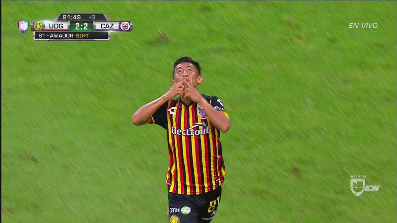 Daniel Amador le da el empate a Leones Negros en el último minuto