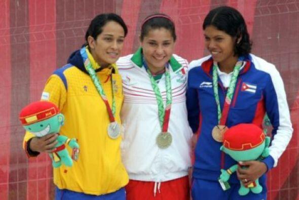 La mexicana Dolores Hernández obtuvo su primer título en los Juegos Cent...