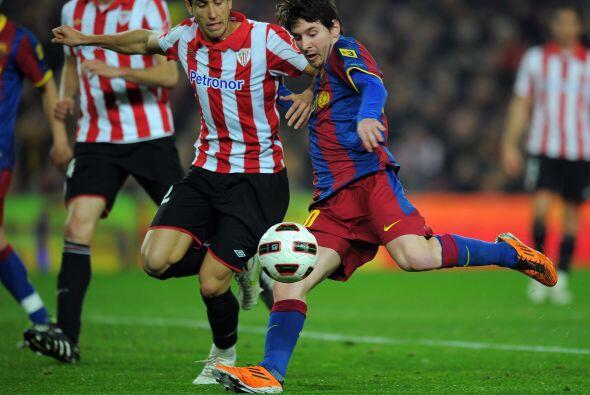 Lionel Messi tenía la oportunidad de igualar a Cristiano Ronaldo...
