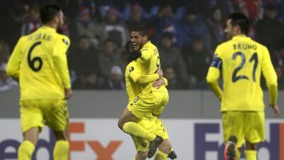 Jonathan Dos Santos marcó el segundo gol de Villarreal