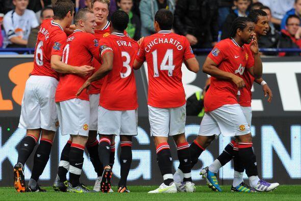 Manchester United gana gusta y golea.