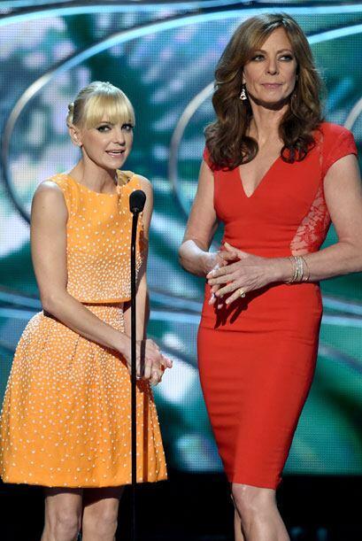 Anna Faris y Allison Janney tuvieron varios cambios de vestuario a lo la...