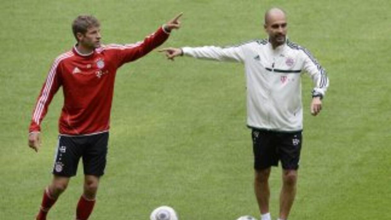 El alemán Thomas Müller fue de los jugadores que estuvieron en la primer...