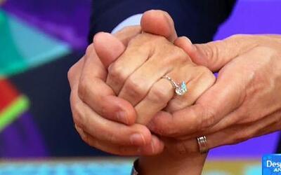 Águeda López mostró el anillo de compromiso que le dio Luis Fonsi