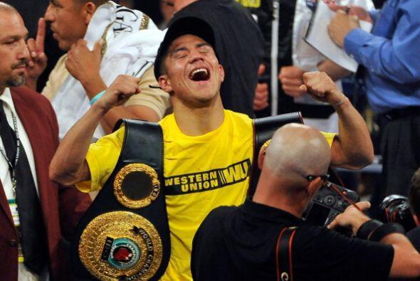 Jessie Vargas conquistó los cinturones wélter jr dela AMB y la OIB al ve...