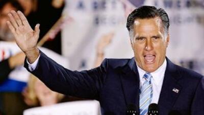 Mitt Romney dio otros cinco importantes pasos hacia la nominación presid...