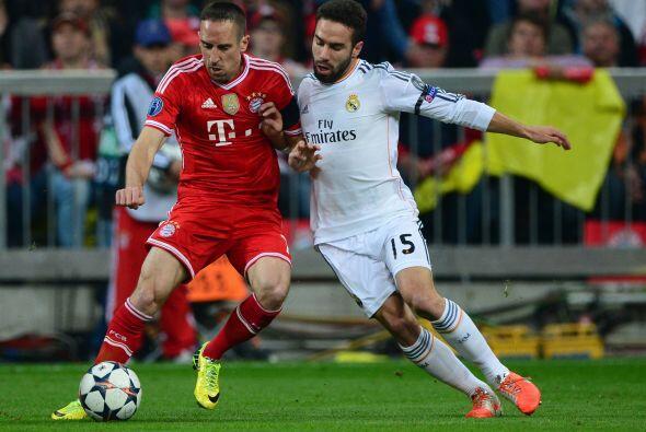 Carvajal (7): Desquició a Franck Ribery una vez más. El fr...