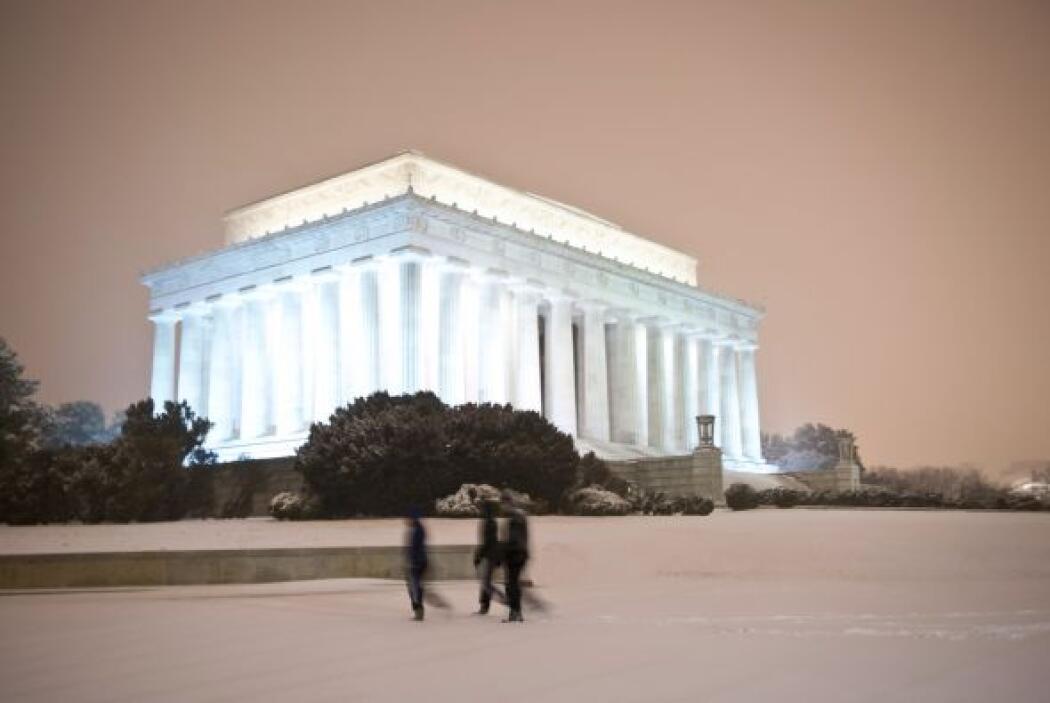 Algunos edificios de Washington DC lucen espectaculares en medio de la t...