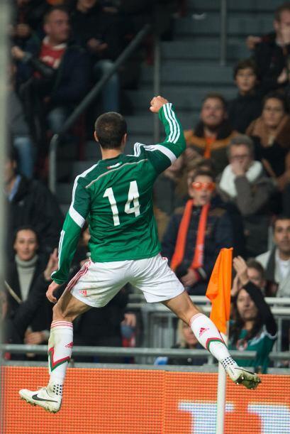 14 Javier Hernández: Ya se sabía que se entiende bien con...
