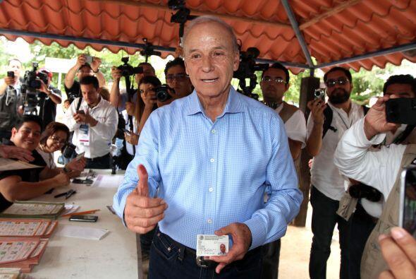 El candidato del Partido Acción Nacional (PAN) al gobierno de Sonora, Ja...