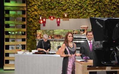 Grenda, Gredmarie y la chef Marilyn estrenaron el nuevo programa de Univ...