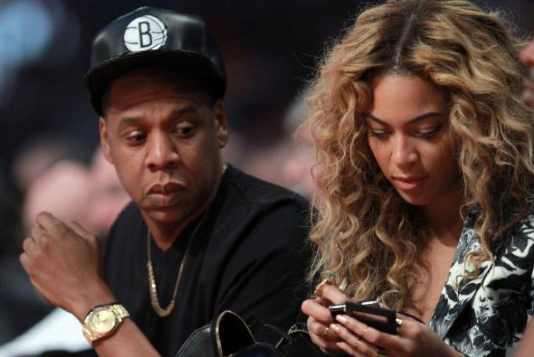 A Beyoncé le gustó el espectáculo y aprovechó para disfrutarlo.