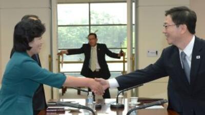 Las dos Coreas alcanzaron un acuerdo para celebrar una reunión a nivel g...