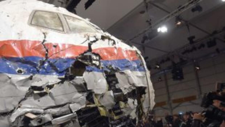 Un misil ruso derribó el avión de pasajeros que cayó en Ucrania en 2014