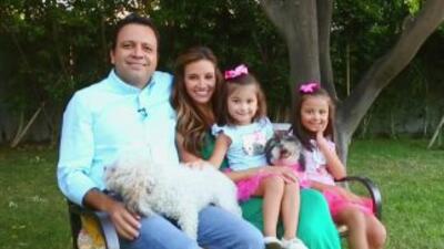 Argelia y Omar dos padres comprometidos con la educación de sus hijas