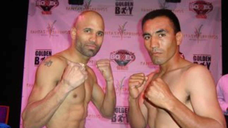 Eric Morel y Luis Maldonado en peso