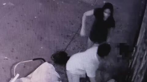 Autoridades buscan a un sospechoso que habría propinado una golpiza a do...