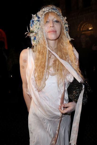 La cantante Courtney Love siempre da mucho de qué hablar porque l...