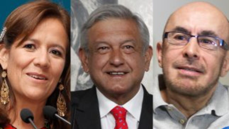 Políticos se lanzan por la presidencia de México.