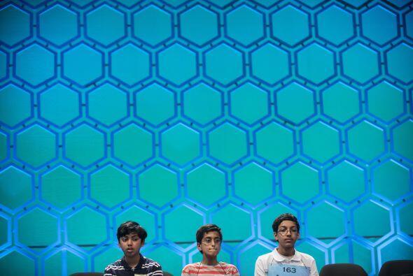 Tres niños ocuparon los tres primeros puestos del Spelling Bee.
