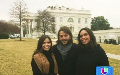 La visita de Diego y América a la Casa Blanca