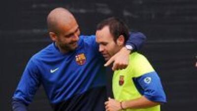 Iniesta comparó los ideales del Barcelona con los del Bayern Munich, el...