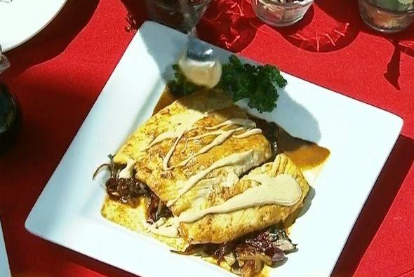 'Pescado Zarandeado'   Es una receta mexicana, típica del estado de Naya...