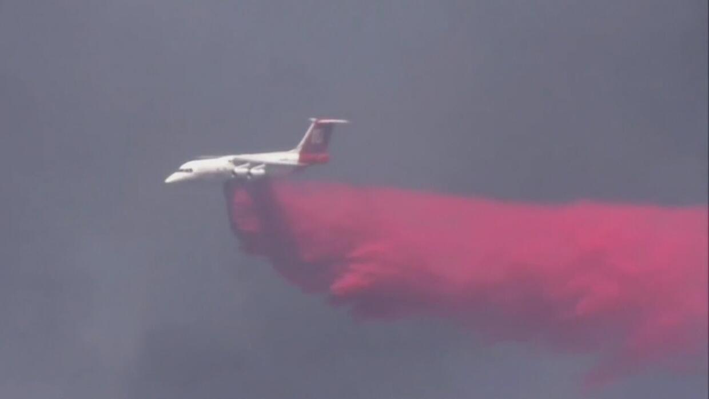 Bosques de California se convirtieron en un infierno