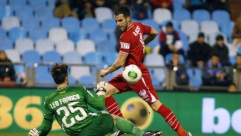 Sevilla y Zaragoza terminaron sin goles y decidirán la eliminatoria en l...