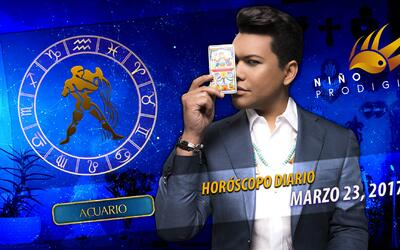 Niño Prodigio - Acuario 23 de marzo, 2017