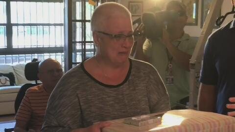 Familia cubana recibe regalo de la FPL, una gran sorpresa para el Día de...