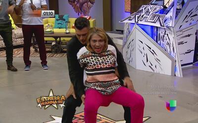 Doña Vianda y Jovani Vázquez perrearon hasta abajo