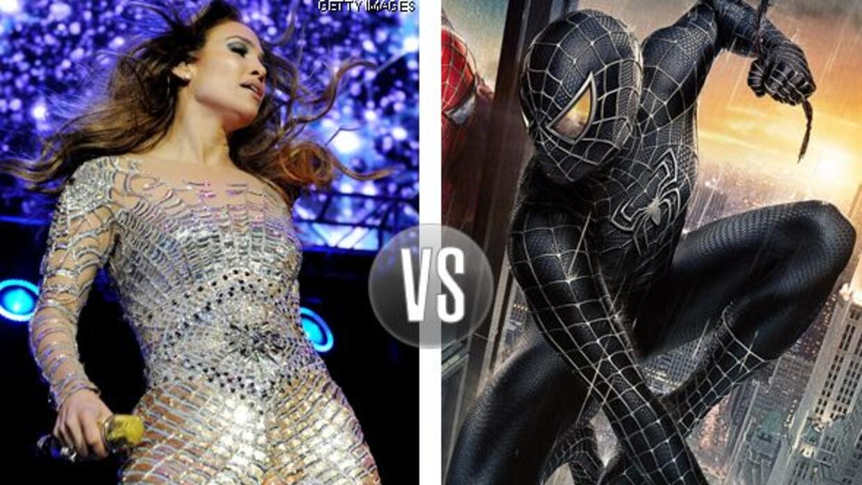 JLo vs. Spider-Man