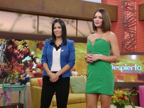 Karla Martínez y Zuleyka Rivera prometieron un programa muy especial y l...