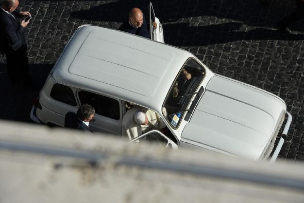 La austeridad del Papa es otra de sus fortalezas ante los fieles, éste e...