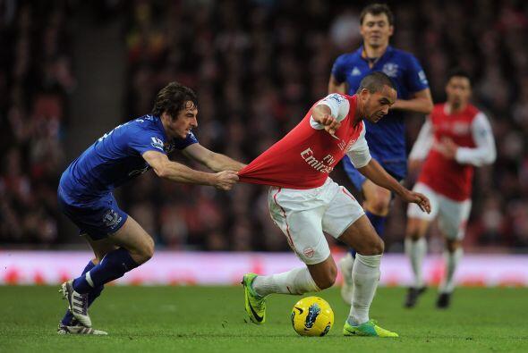 El Arsenal jugó muy concentrado.