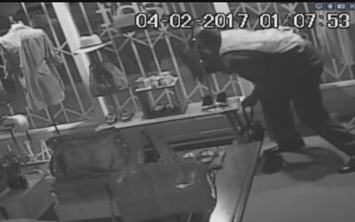 Buscan a un intrépido ladrón que durante una mañana robó siete negocios...