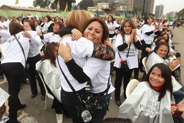 La iniciativa fue organizada por la experta peruana Hanna Caball, quien...