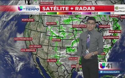 San Antonio continúa con riesgo de tiempo severo