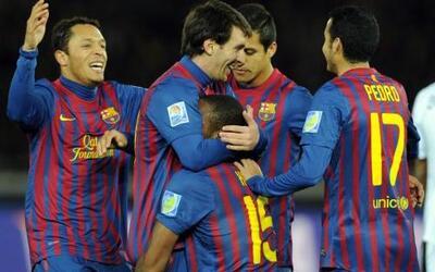 El Barcelona no tuvo problemas y despachó al Al-Sadd con un 4 a 0.