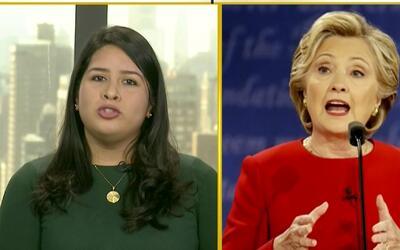 Una inmigrante que trabaja en la campaña de Hillary Clinton revela cuál...