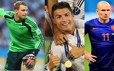 Los insípidos finalistas a mejor jugador de Europa