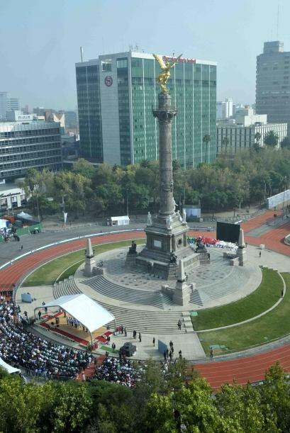 La celebración del Festival Olímpico Bicentenario convirti...